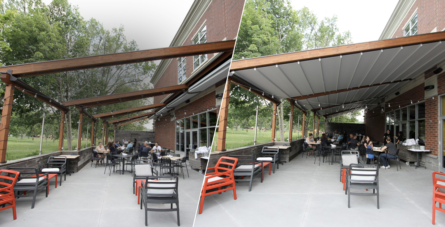 Rolltec Retractable Awnings Toronto Patio Awnings