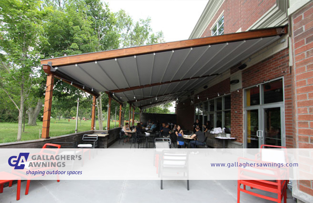 Louvered Pergola Rolltec Retractable Awnings By